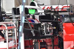 Haas VF-21 front brake detail