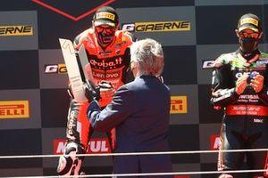 Podium: Scott Redding, Aruba.It Racing - Ducati