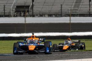 Felix Rosenqvist, Arrow McLaren SP Chevrolet, Patricio O'Ward, Arrow McLaren SP Chevrolet