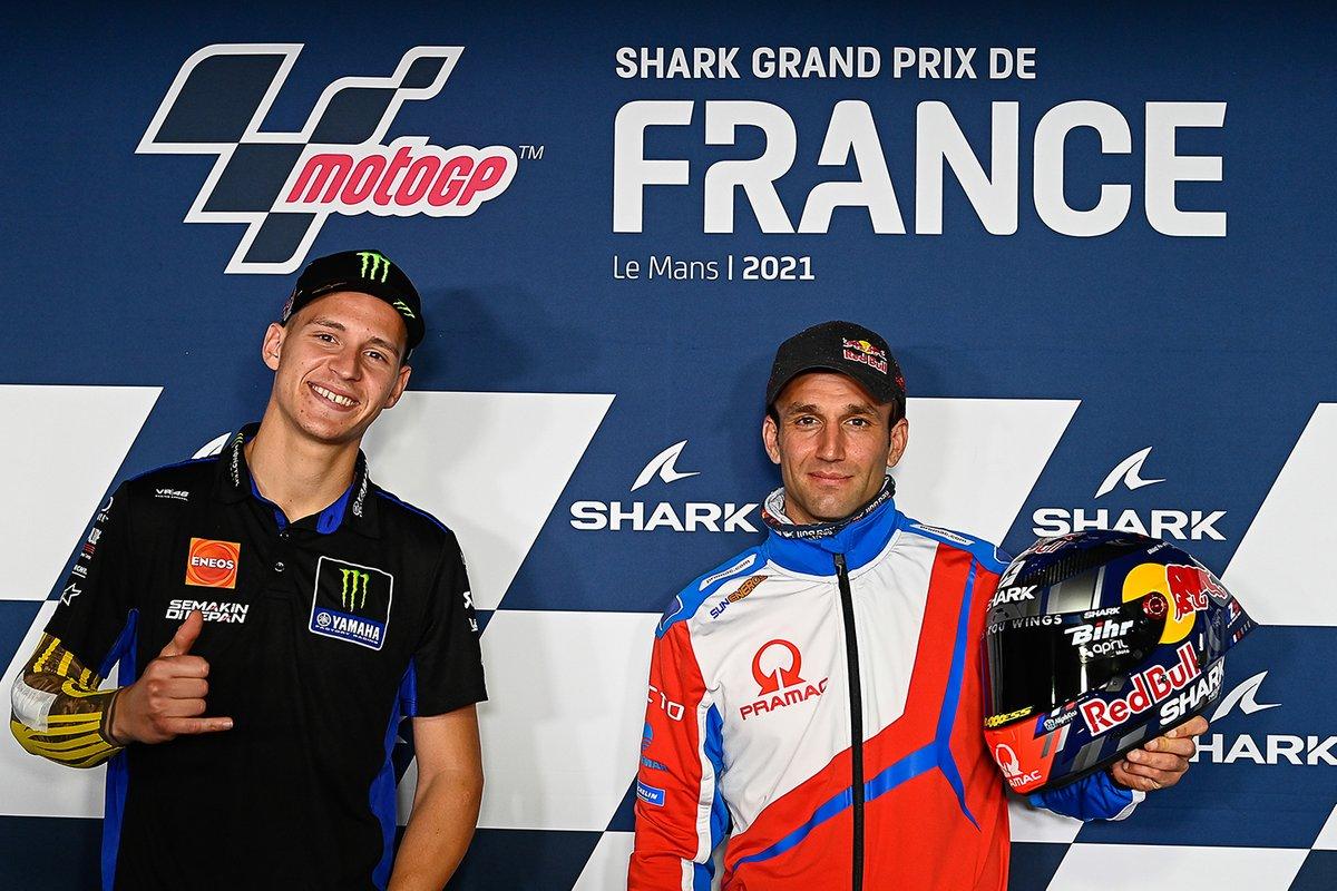Fabio Quartararo, Yamaha Factory Racing, Johann Zarco, Pramac Racing