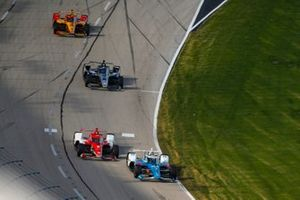 Scott McLaughlin, Team Penske Chevrolet, Marcus Ericsson, Chip Ganassi Racing Honda