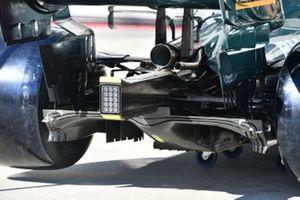 Aston Martin AMR21 dettaglio