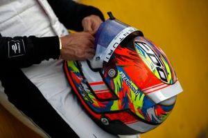 Helm van Edoardo Mortara, Venturi Racing