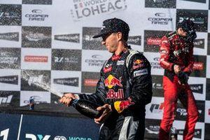 Podium: Timmy Hansen, Hansen World RX Team Peugeot 208