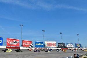 Ryan Blaney, Team Penske, Ford Mustang Menards/Richmond and Kurt Busch, Chip Ganassi Racing, Chevrolet Camaro Monster Energy