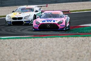 Daniel Juncadella, Mercedes-AMG Team GruppeM Racing Mercedes AMG GT3, Marco Wittmann, Walkenhorst Motorsport BMW M6 GT3