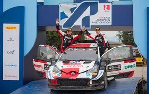 1. Kalle Rovanperä, Jonne Halttunen, Toyota Gazoo Racing WRT Toyota Yaris WRC