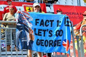 Williams fan at Monza