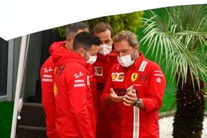 Ferrari-teamleden