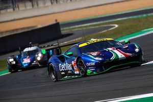 #47 Cetilar Racing Ferrari 488 GTE EVO LMGTE Am of Roberto Lacorte, Giorgio Sernagiotto, Antonio Fuoco