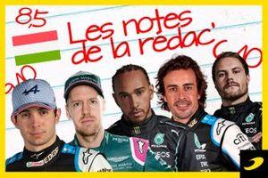 Les notes de la rédac pour le Grand Prix de Hongrie