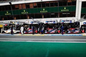 United Autosports in de pitlane