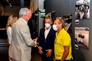 Jean Alesi e Pierluigi Martini