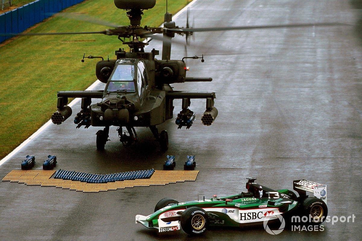 Jaguar et Terminator, GP de Grande-Bretagne 2003