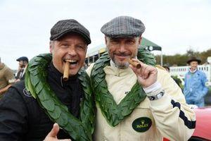 Célébration Royal Automobile Club TT, Shaun Lynn Andy Priaulx