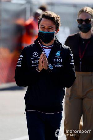 Le Champion de Formule E Nyck de Vries, Mercedes