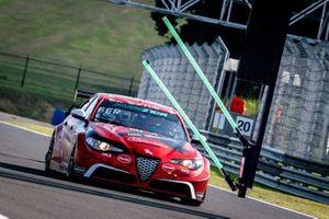 Luigi Ferrara, Romeo Ferraris-M1RA, Alfa Romeo Giulia ETCR