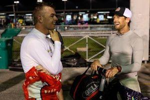 Scott McLaughlin Team Penske Chevrolet, Romain Grosjean, Dale Coyne Racing with Rick Ware Racing Honda
