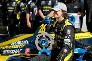Polesitter Colton Herta, Andretti Honda