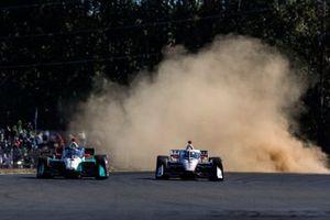 Josef Newgarden, Team Penske Chevrolet, Dalton Kellett, A.J. Foyt Enterprises Chevrolet