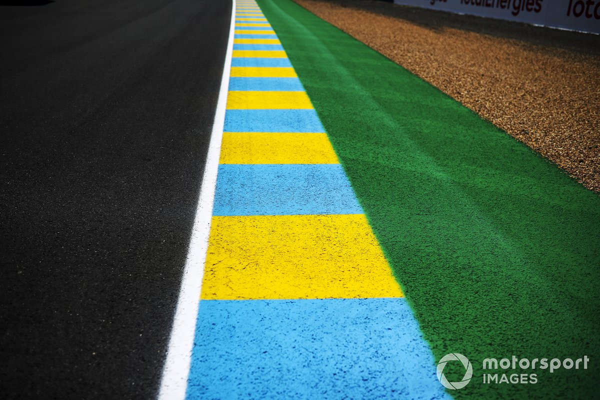 A view of the Le Mans circuit