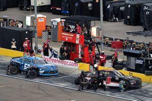 Matt Mills, B.J. McLeod Motorsports, Toyota Supra J.F. Electric and Carson Ware, Means Motorsports, Chevrolet Camaro KeepItSecure.net