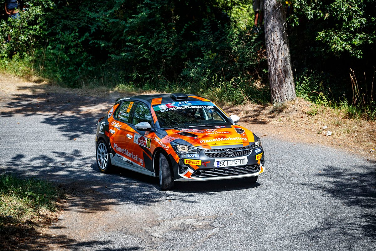 Łukasz Lewandowski, Adrian Sadowski, Opel Corsa Rally4