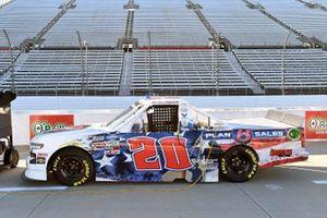 #20: Spencer Boyd, Young's Motorsports, Chevrolet Silverado Plan B Sales