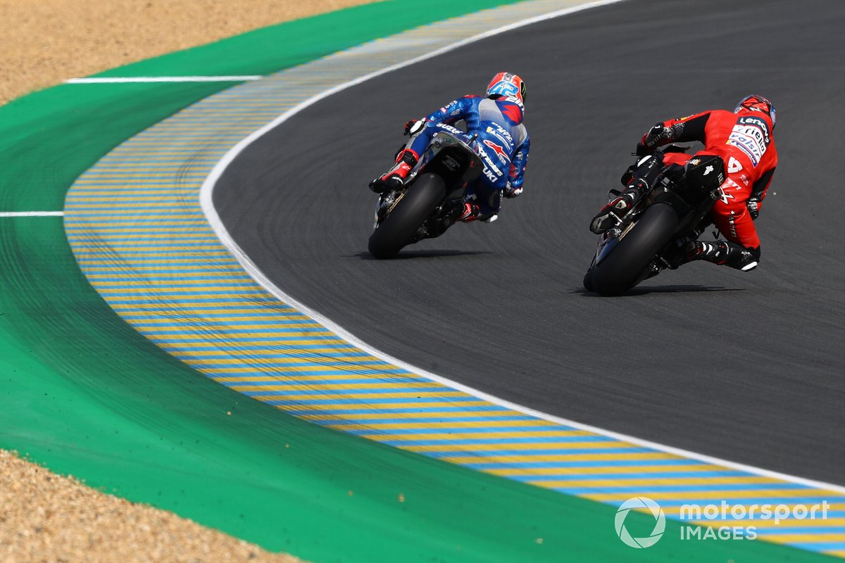 Alex Rins, Team Suzuki MotoGP Danilo Petrucci, Ducati Team
