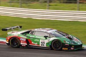 Kikko Galbiati, Giovanni Venturini, Giacomo Altoè, Imperiale Racing. Lamborghini Huracan GT3 Evo