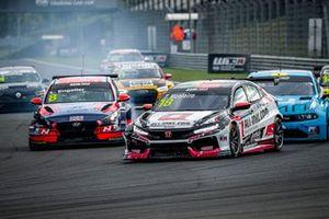 Tiago Monteiro, ALL-INKL.DE Münnich Motorsport Honda Civic TCR, Luca Engstler, Engstler Hyundai N Liqui Moly Racing Team Hyundai i30 N TCR