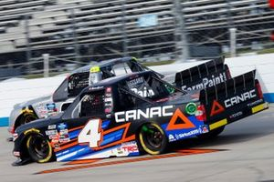 Raphael Lessard, Kyle Busch Motorsports, Toyota Tundra Canac, Grant Enfinger, ThorSport Racing, Ford F-150 Farm Paint/Curb Records