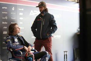 Joe Roberts, American Racing, mit John Hopkins