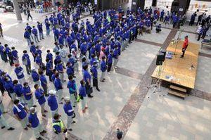 地元から多くのボランティアスタッフが集まった|準備が進むA1市街地グランプリ GOTSU 2020のコース