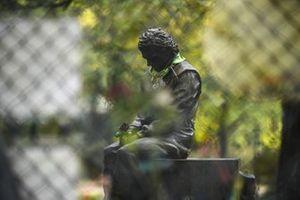 Статуя Айртона Сенны