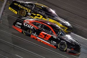 James Davison, Rick Ware Racing, Ford Mustang and Brad Keselowski, Team Penske, Ford Mustang Western Star/Alliance Parts
