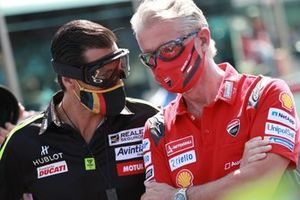 Ruben Xaus, Paulo Paolo Ciabatti, directeur sportif de Ducati Corse
