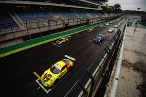Grid da Porsche Cup em Interlagos