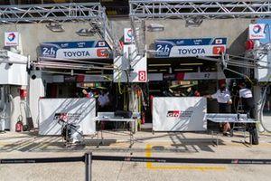 #8 Toyota Gazoo Racing - Toyota TS050 - Hybrid: Sébastien Buemi, Kazuki Nakajima, Brendon Hartley, #7 Toyota Gazoo Racing - Toyota TS050 - Hybrid: Mike Conway, Kamui Kobayashi, Jose Maria Lopez