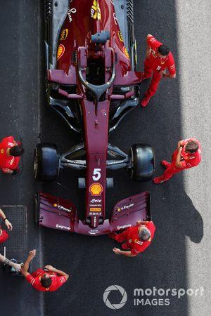 Ferrari SF1000 of Sebastian Vettel