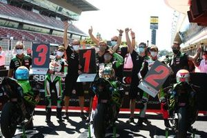 Scott Deroue, MTM Kawasaki Motoport, Yuta Okaya, Jeffery Buis, MTM Kawasaki Motoport