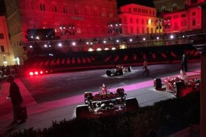 Ferrari 1000th GP celebration atmosphere