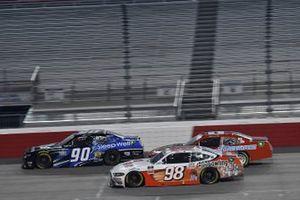 Chase Briscoe, Stewart-Haas Racing, Ford Mustang Go Bowling Dexter Bean, DGM Racing, Chevrolet Camaro Sleep Well
