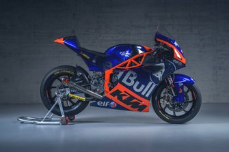 La moto di Marco Bezzecchi, Red Bull KTM Tech3