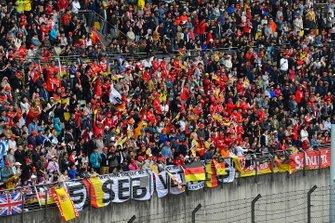 Sebastian Vettel, Ferrari taraftarları