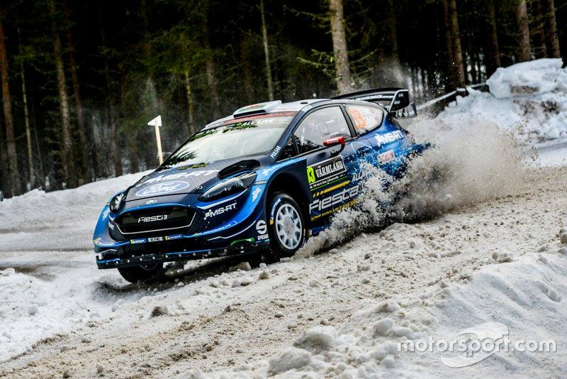 Elfyn Evans, Scott Martin, M-Sport Ford, Ford Fiesta WRC 2019