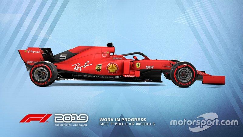 Livrée Ferrari dans F1 2019