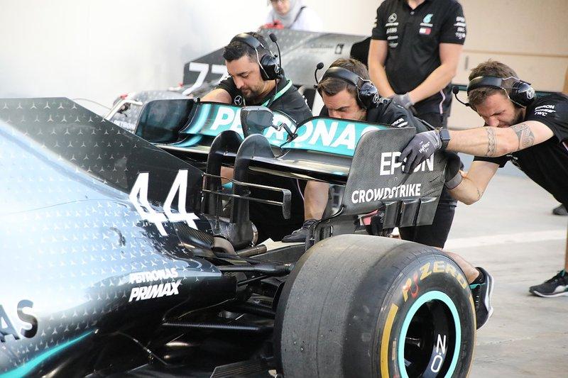 Mercedes technical detail