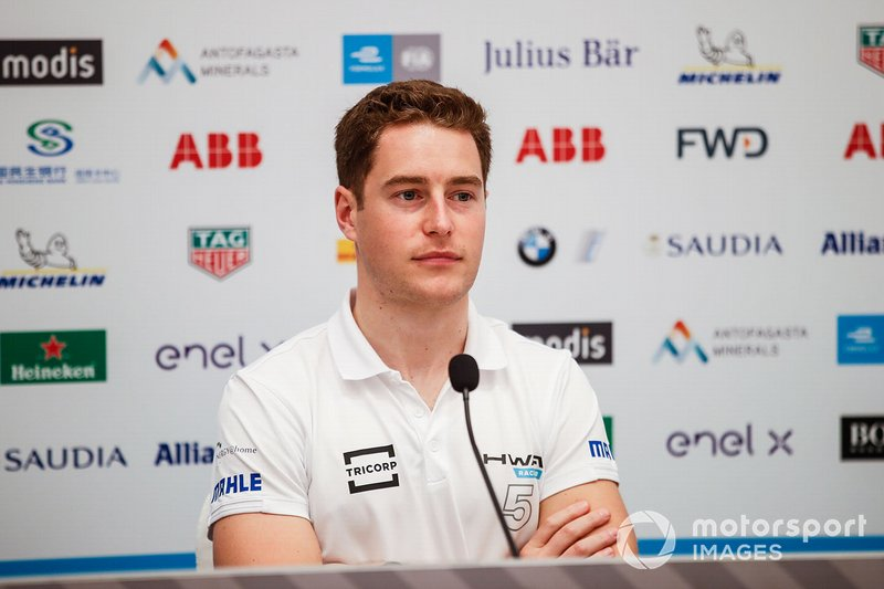 Stoffel Vandoorne, HWA Racelab, in the press conference