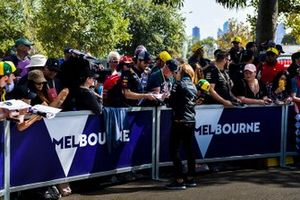 Claire Williams, Deputy Team Principal, Williams Racing on the Melbourne Walk